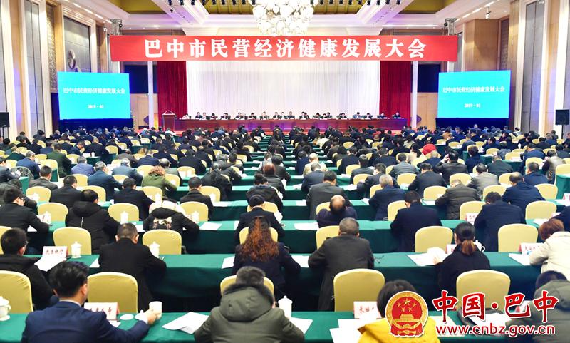全市民营经济健康发展大会召开